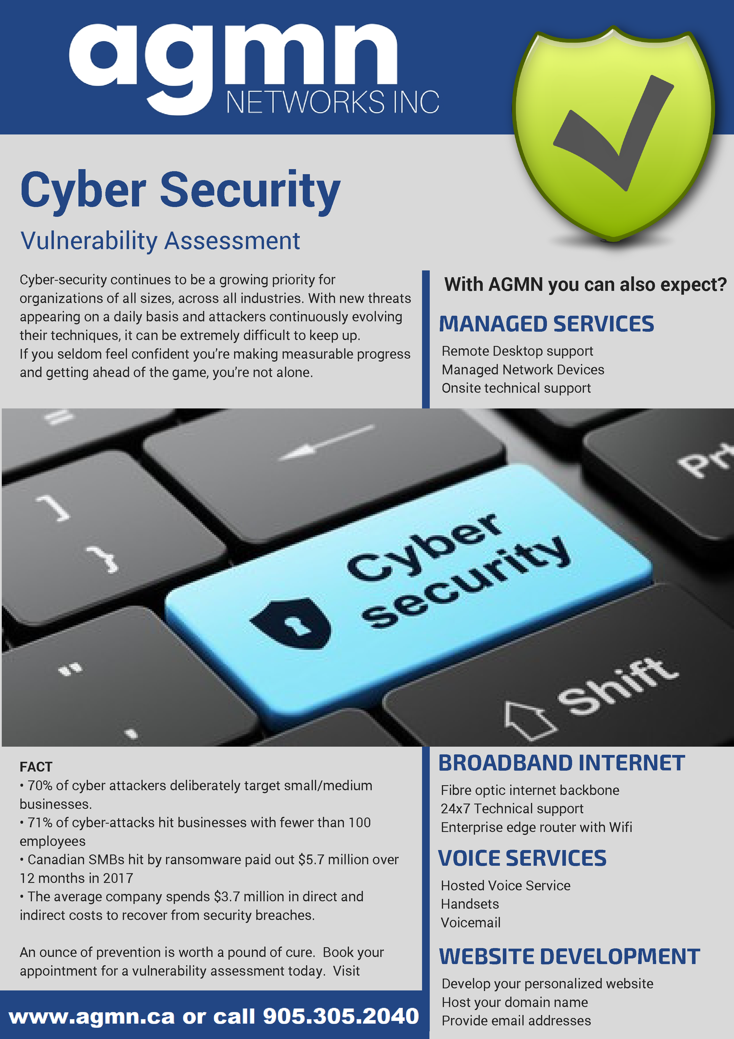 AGMN Cyber Security Brochure
